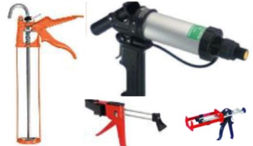 1 und 2-Kartuschenpistolen